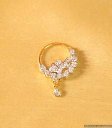 Buy Diamond Look Marathi Nose Ring nose-ring online                                                                                                                                                                                 More