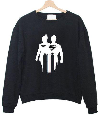 disney batman vs superman sweatshirt sweatshirt #sweat #shirt #clothing #cloth #crewneck #sweater #sweaters