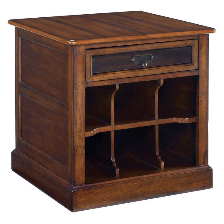 Hammary Mercantile Rectangular Storage End Table - 050-916