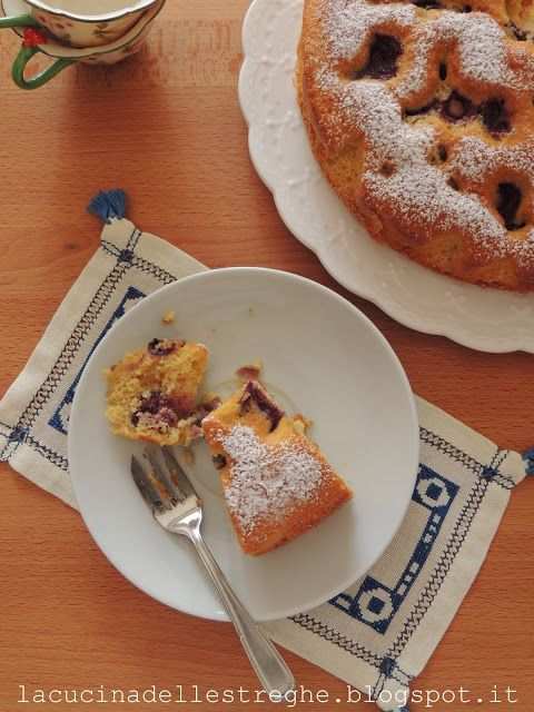 La cucina delle streghe: Torta soffice alle ciliegie...ovvero la bublanina