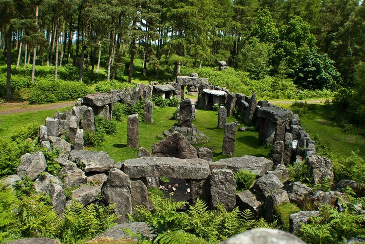 The Druids Temple at Ilton, North Yorkshire  photo by Taffspoon