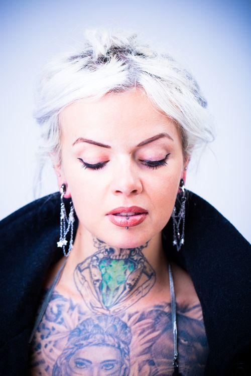 Tattoo and Earrings