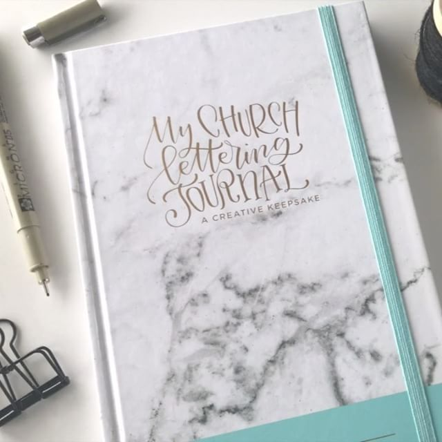 If you haven't noticed how much I love church lettering, I love it so much, I wrote a book about it. The first part is all about how to do it with lettering guides and techniques and then the rest is a structured weekly church journal. Here's a sneak peek of My Church Lettering Journal that I put together so you can take a peek inside!   It's available for pre-order on Amazon now with a super soon release date! Get to it easily with the link in my profile.