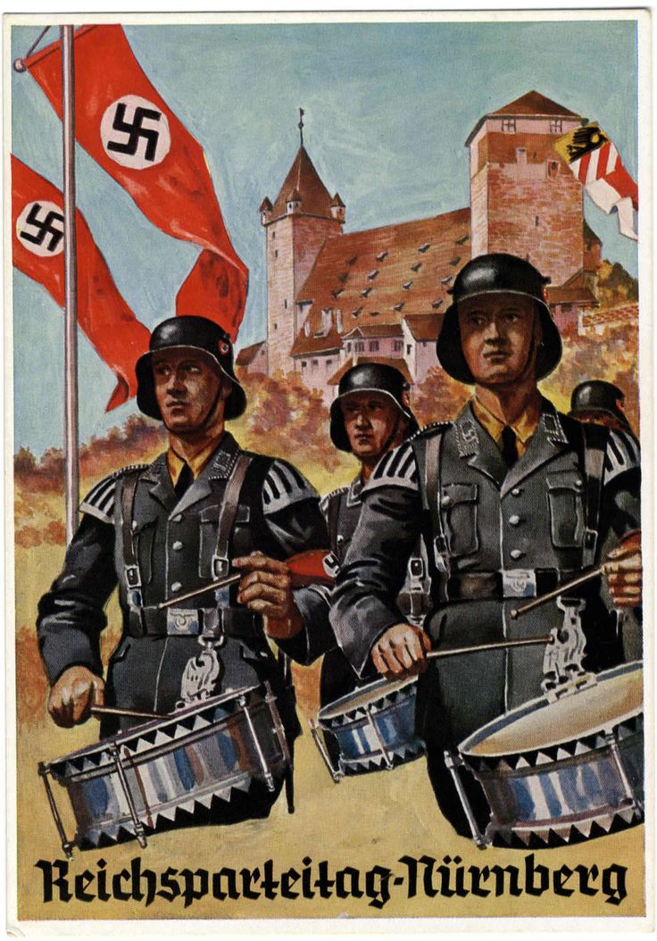 nazi partys use of artistic propaganda led In 1928, goebbels was elected to the reichstag, the german parliament more significantly, hitler named him the nazi party propaganda director.
