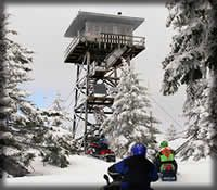 Rent a fire lookout from the US Forest Service