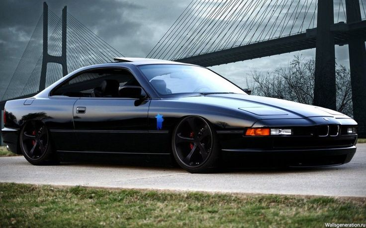 BMW 850 CSi, the last of the CSi series and the prettiest damn Bimmer ever.