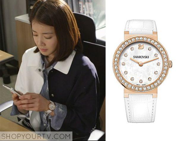 Golden Cross: Episode 9 Seo Yi Re's White Watch - ShopYourTv