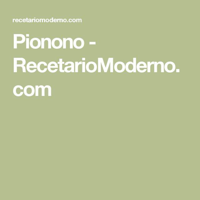 Pionono - RecetarioModerno.com