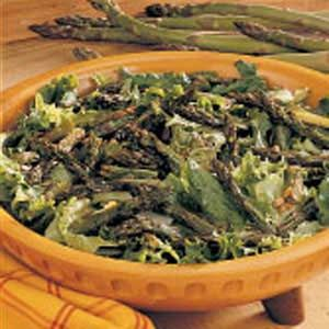 Light Roasted Asparagus Salad