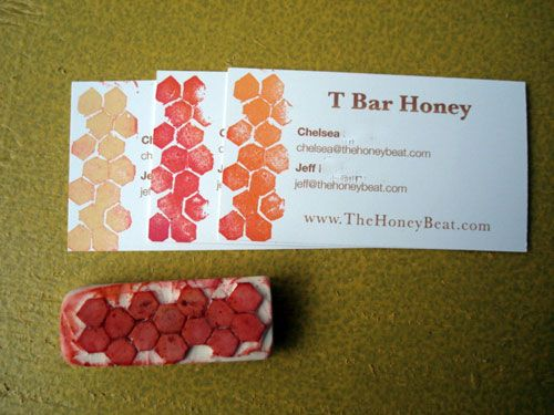 Pretty and easy.: Treats Bags, Crafts Ideas, Treat Bags, Diy Honeycombs, Upcycled Crafts, Upcycle Eco Crafts, Honeycombs Stamps, Stamps Jpg 500 375, Work Crafts