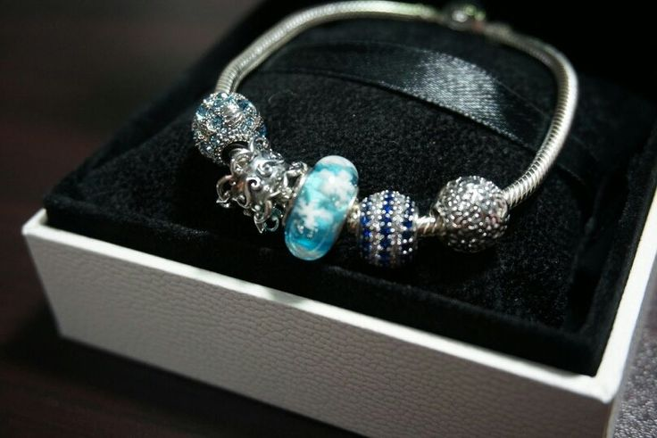 Glamulet 925 sterling silver charms beads and leather bracelet fit Pandora available on Amazon