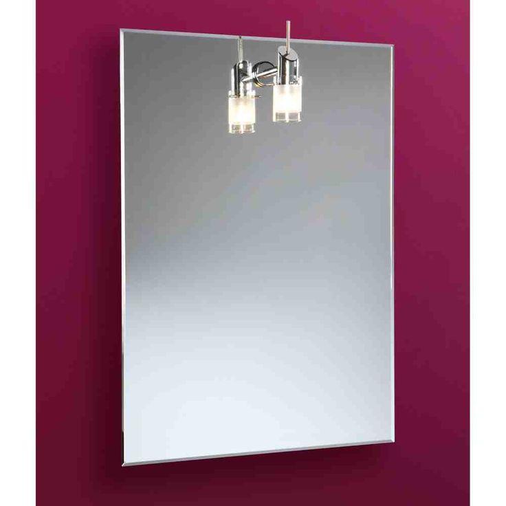 Heated Bathroom Mirror with Light