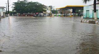 NONATO NOTÍCIAS: Chuva causa transtorno em Miguel Calmon