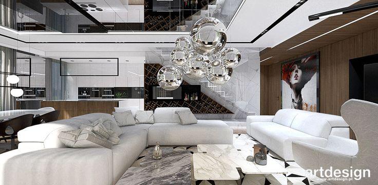 TALL STORY | Wnętrze domu | Salon w stylu nowoczesnym