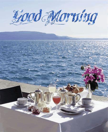 Traumhaft idyllisch schön, ein perfekter Start in den Tag mit einem leckeren Frühstück, kann man dazu nein sagen?