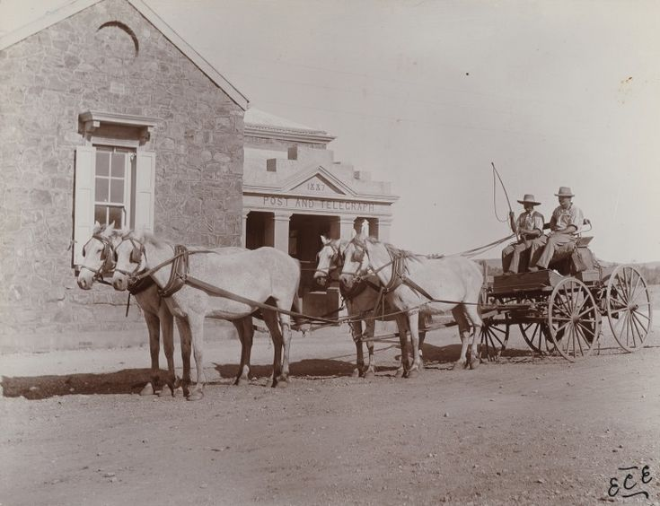 BA338/1/39: Arrival of Mail Coach, Roebourne, 1900 http://encore.slwa.wa.gov.au/iii/encore/record/C__Rb4721771?lang=eng