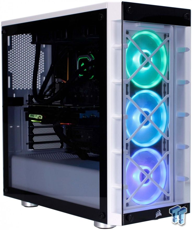 Corsair icue 465x midtower chassis review pc memory