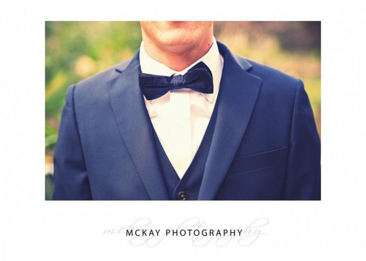 Bow tie - Bendooley Estate wedding  #mckayphotography #groom