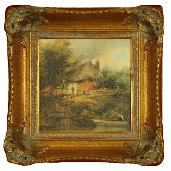 English Cottage Decorating | English Cottage Framed Art