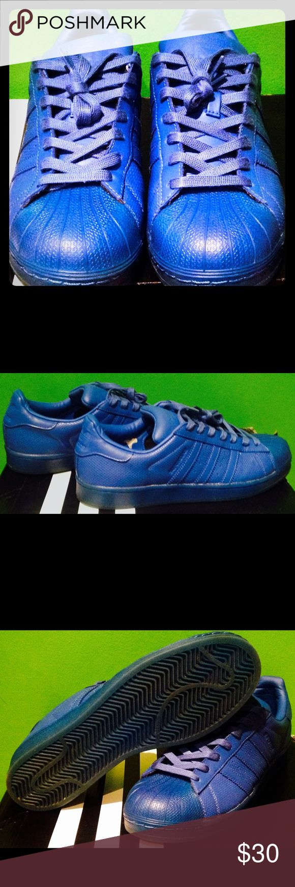 Adidas Blue Shell 🐚 Toes Size 10. Good Condition Adidas Blue Shell 🐚 Toes Size 10. Good Condition. Another great pair of #CoolUsedShoes adidas Shoes Sneakers
