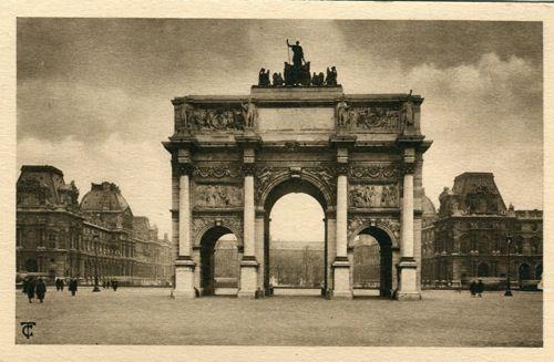 gorgeous vintage postcardsVintage Postcards, Paris, Post Cards, Travel Postcards, Vintage Photographers, Vintage Wardrobe, Triumphal Arches, Black White, Places