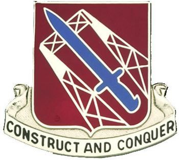 1030th Transportation Bn Unit Crest (Construct And Conquer)