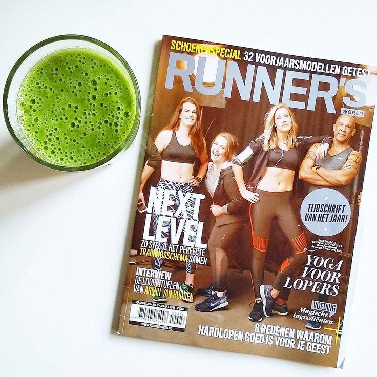 Terug van de fysio en mijn linkerbeen wil nog steeds niet meewerken. Vandaag werden de spieren harder gemasseerd dan normaal maar wat deed dat pijn . Komende week gewoon weer verder met de oefeningen en rekken/strekken en hopen dat ik over 3 weken mijn trainingen weer kan hervatten . Maar nu lekker een groene smoothis drinken terwijl ik de nieuwe Runners aan het lezen ben . Geniet van je weekend mensen . #sports #workout #training #run #running #girlswhorun #run2day #girlslove2run #fitgirls…