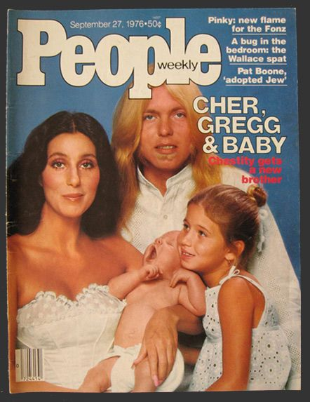 1976 Vintage People Magazine Cover ~ always loved the name of Cher and Gregg's baby - Elijah Blue