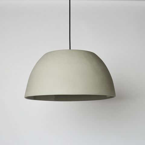 Wide Dome Light in Ash