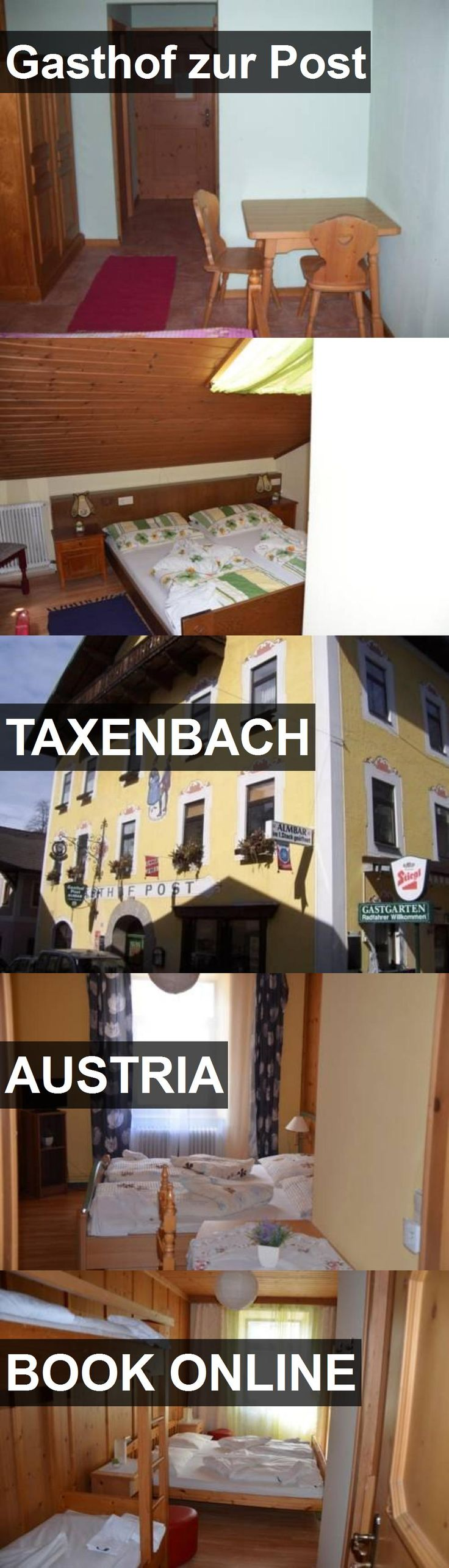 Hotel Gasthof zur Post in Taxenbach, Austria. For more information, photos, reviews and best prices please follow the link. #Austria #Taxenbach #travel #vacation #hotel