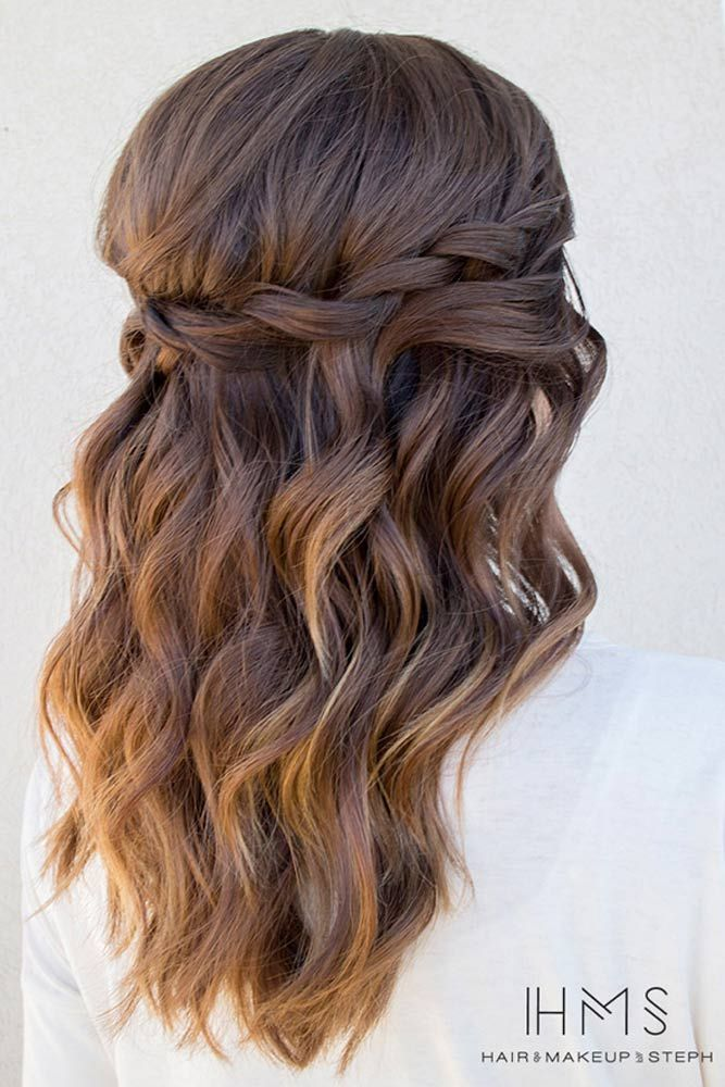 Peachy 1000 Ideas About Long Prom Hair On Pinterest Prom Hair Prom Hairstyles For Women Draintrainus