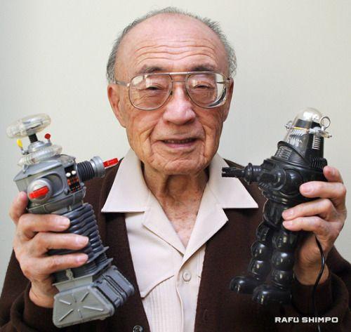Suffering fools badly! Production designer Robert Kinoshita (February 24, 1914 - December 9, 2014) who designed both robots