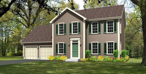 17 best images about ledyard meadows estates house plans for Colonial garage plans