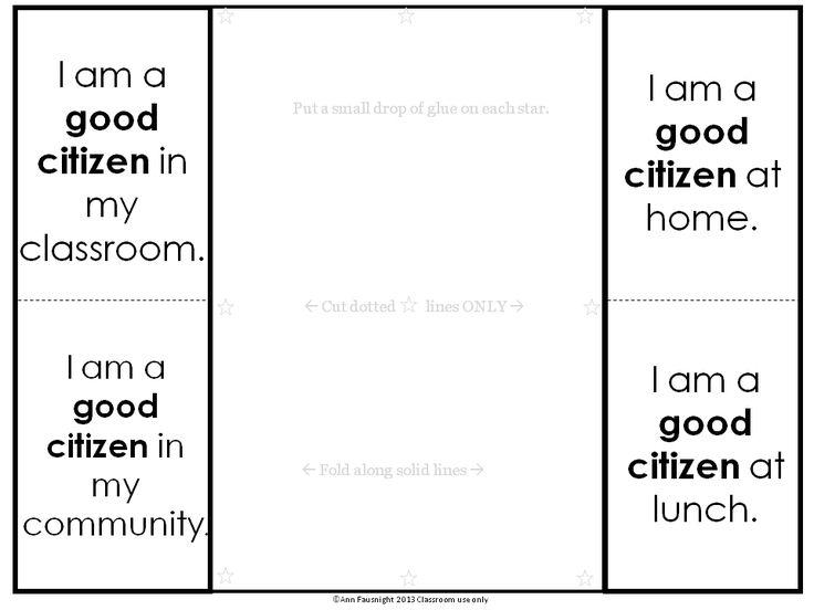 Best  Good Citizen Ideas On   Citizenship