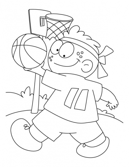 12 best colouring pages images on pinterest coloring for Ncaa basketball coloring pages