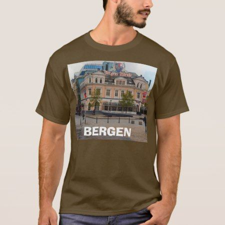 Norway, Bergen T-Shirt - click/tap to personalize and buy