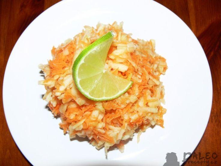 Salát s mrkví a jablky
