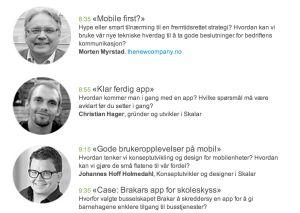 Torsdag 6. februar er Morten Myrstad fra The New Company en av innlederne på Skalar sitt frokostmøte under temaet: Mobile First – Hype eller smart tilnærming?