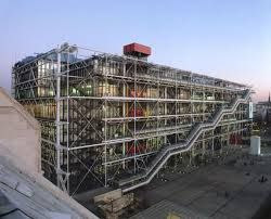 renzo piano - Postmodernism (going back in history)  A very modern joke architect in the middle of Paris.