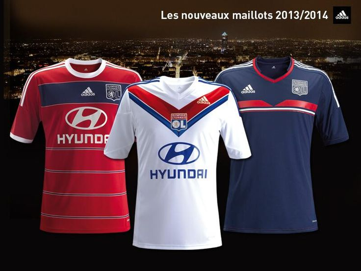 Olympique Lyon OL 13/14 (2013-14) Home + Away + Third Kit Released ...