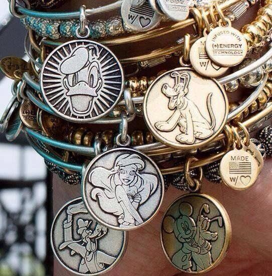 Created with the perfect combination of pixie dust and positive energy, this Alex and Ani charming collection features beloved characters, icons, and more! Carry the Disney Magic on your wrist for a touch of magic!