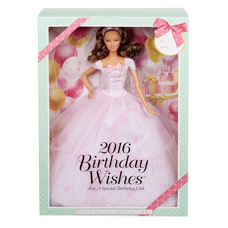Barbie 2016 Birthday Wishes Doll DGW33 Barbie