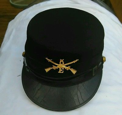 Spanish American War US Army M1895 Enlisted Cap Infantry Kepi Style Hat RARE #3
