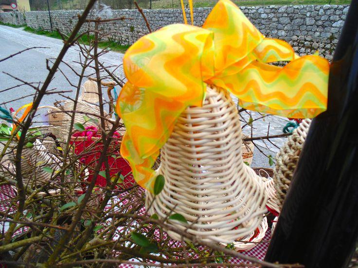 Creazioni Pasquali <3 campanelle che annunciano la Primavera by Cesti di Mara