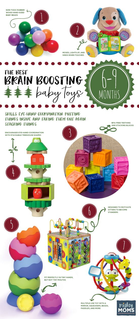 The Best Brain-Boosting Toys for 6-9 Month Olds ~ MightyMoms.club