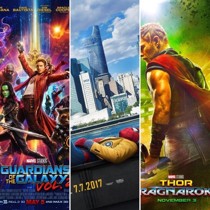 Next Marvel movies coming out. So excited!