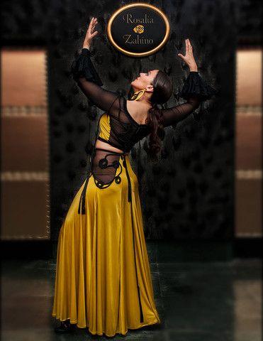 Greenish-Golden Skirt - Rosalía Zahíno http://rosalia-zahino.myshopify.com/products/greenish-golden-skirt