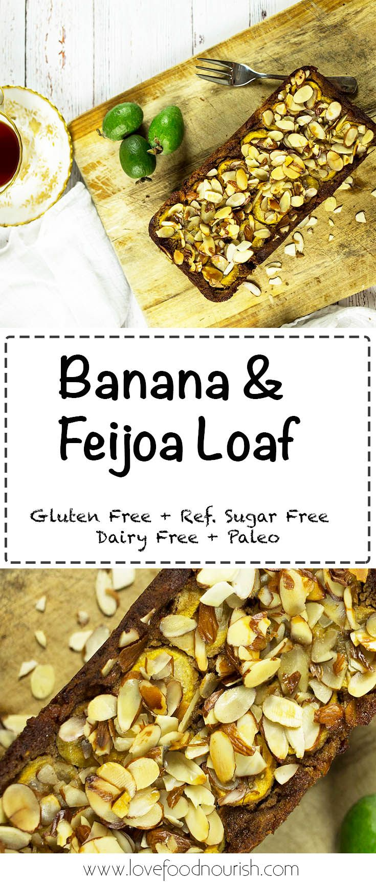 Banana & Feijoa Loaf - A delicious loaf that is na…