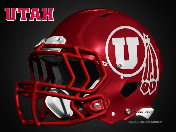 Check Out  all of the Utah Utes Red Helmet concepts on my website Charles Sollars Concepts http://www.charlessollarsconcepts.com/utah-utes-red-helmet-concepts/ @Charles Sollars #football #helmets @UtesEquipment @Ute Central  #utah #utes