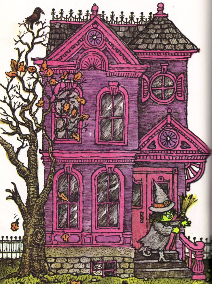 """from """"Witches Four"""" illustrated by Marc Brown, 1980"""